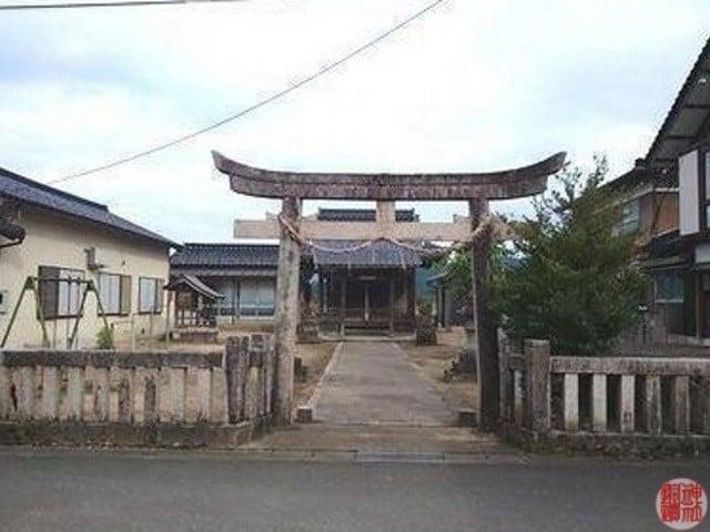 村社 鹿島神社(豊岡市日高町府中新)