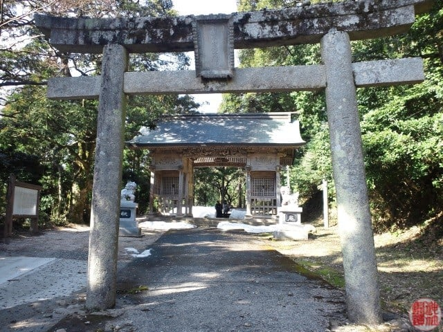 伯耆国一宮 式内 倭文(しとり)神社