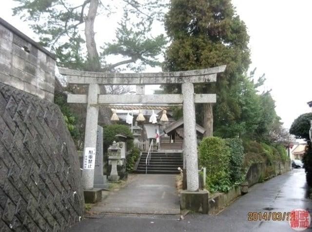 式内 阿須利神社