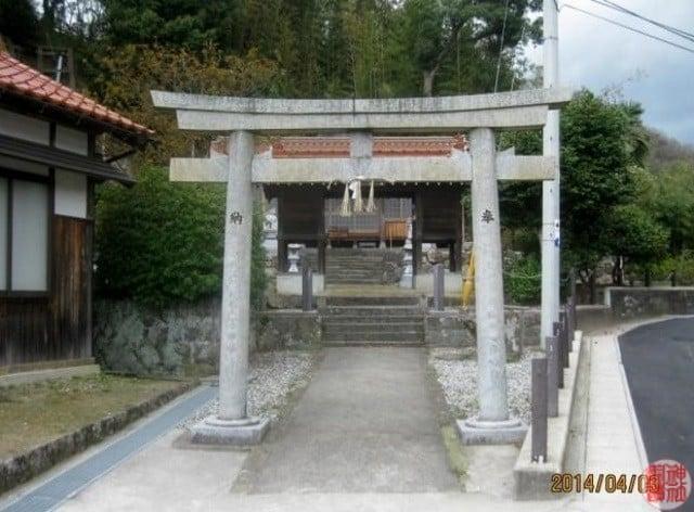 式内 横田神社(森山)