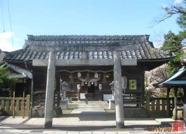 阿羅波比神社・愛宕神社(式内 意多伎神社)