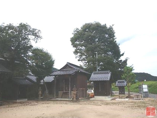須賀神社(豊岡市日高町東芝)