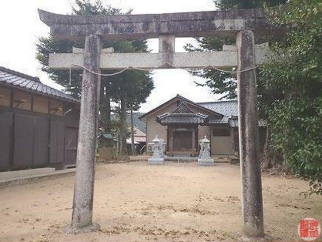 村社 熊野神社(豊岡市日高町池上)