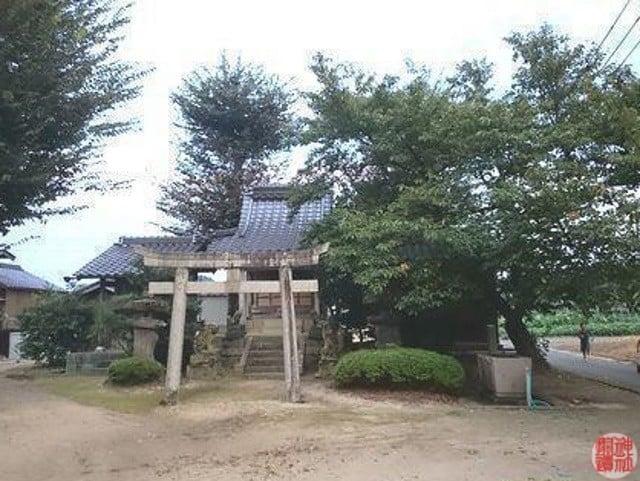 村社 日吉神社(豊岡市日高町堀)