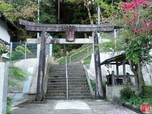 村社 二宮神社(朝来市和田山町和田山)