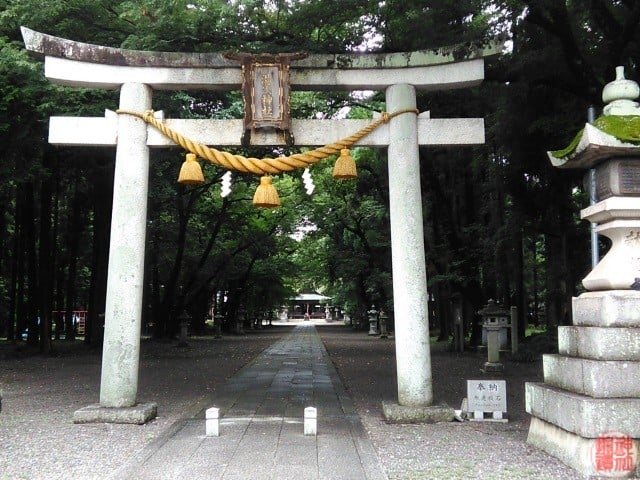 式内 湯次神社