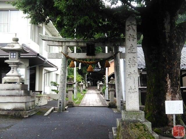 式内 走落神社(滋賀県長浜市)